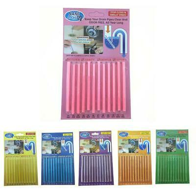 Sticks Sewer Cleaning Rod Drain Cleaner and Deodorizer Kitchen Toilet Pipe Tool