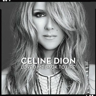 CD Loved Me Back to Life by Celine Dion Columbia NEW SEALED