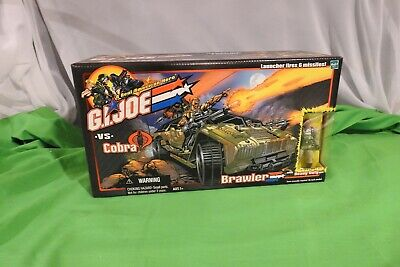 GI Joe vs Cobra ARAH Brawler w/ Heavy Duty figure 2002 MISB