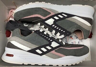 sports shoes a55fe 0833e Brooks X Bait Regent Rabbit Foot Steel Ash Grey Rose Water White Pink Sz  11.5