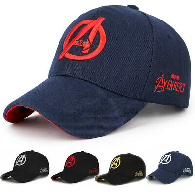 7b34da99 EndGame Avengers Logo Hat Heather Snapback Flat Ball Cap Baseball Adjustable