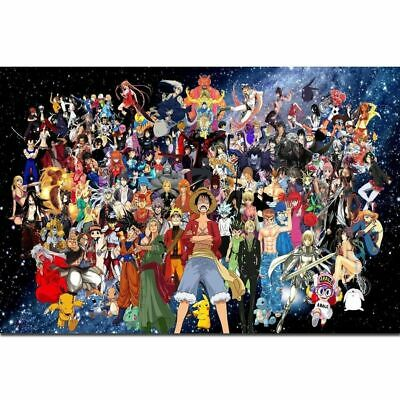 C146 One Piece Kingdom All Characters Hot Classic Anime 24x36 21 Poster
