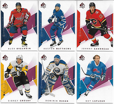 2018-19 Upper Deck SP Authentic Hockey Red Parallel Base 1-100 U PICK