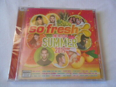 So Fresh The Hits Of Summer 2017 Cd Brand New Factory Sealed!