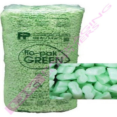 Packing Peanuts Flopak Super 8 Void Space Loose Fill *Multi Qty Listing*