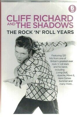 Cliff Richard & The Shadows The Rock N Roll Years 6Cd Box Set New Sealed