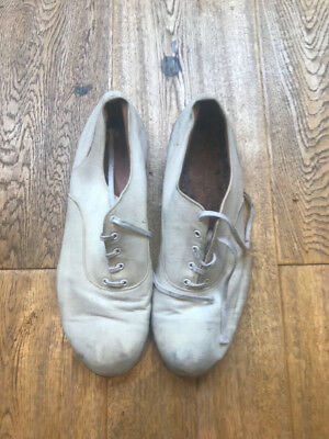 1920's White Canvas US Navy Shoes