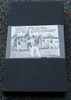 VTG Tai Chi for Seniors VHS Mark Johnson Self Healing Through Movement Chi Gung