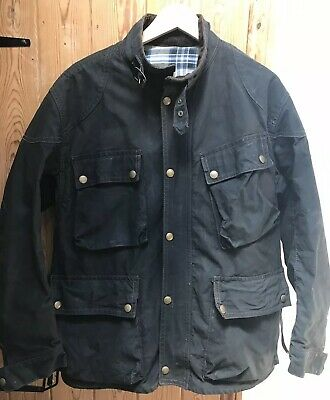 1f4f4d7e9a VINTAGE 70'S BELSTAFF Trialmaster Pro Waxed Motorcycle Jacket Size ...