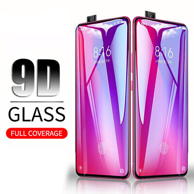 9D Curved Full Cover Tempered Glass Screen Protector For Xiaomi Redmi K20 Pro