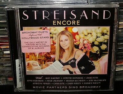 BARBRA STREISAND - ENCORE Movie Partners Sing Broadway  **NUOVO SIGILLATO** CD