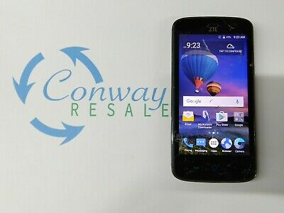 ZTE MAJESTY PRO Z799BL 8GB Black (TracFone) Cracked Glass