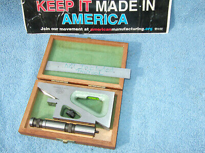 Planer Gage W/Case Helios #2 Machinist German Made More Us Made Here