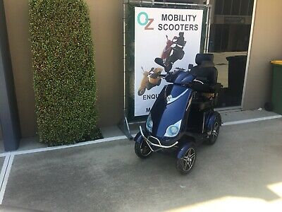 Ozrider Es028 Deluxe 4-Wheeled Scooter