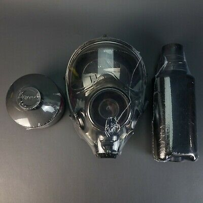 Premium SGE 1000 NBC Protective Mask w/ Filter & Drinking System Made in Italy