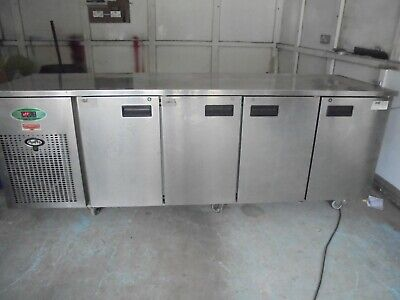 """Commercial Stainless Steel Food Warmer - 91"""" Long x 27.5"""" Deep x 33.75"""" High"""