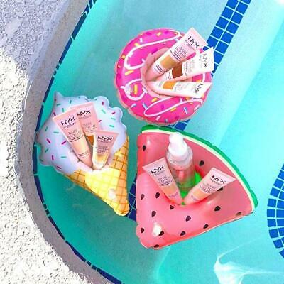 Fun NOVELTY INFLATABLE DRINK CUP HOLDER Pool Party Beach RING FLOAT 3 Designs