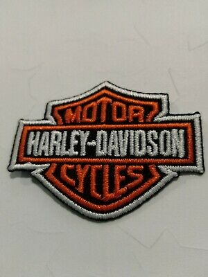 TOPPA PATCH ECUSSON ABZEICHEN MOTO HARLEY DAVIDSON  MOTORCYCLE small piccola