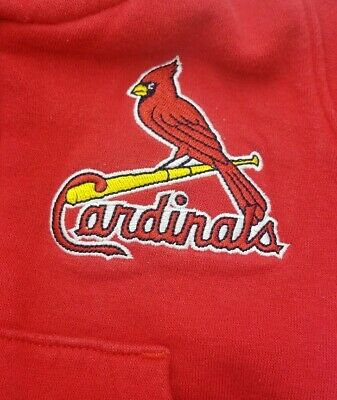 (A187) Infant St. Louis Cardinals Jacket Sz 3/6 Mo