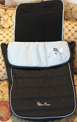 Silver Cross Foot Muff Fleece Lined PopStar Kite  slightly used Excellent COND