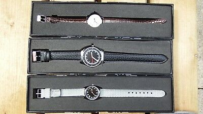 Job Lot Of 3 Eaglemoss Collections 1910 British 1940/1980 German Watches.boxed.