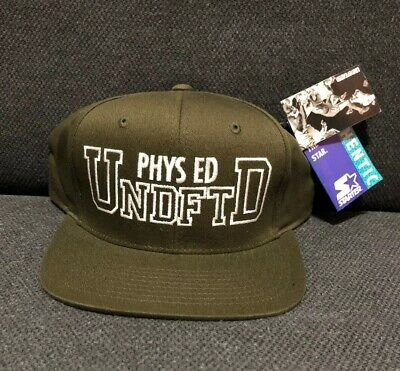 fbb38d82 Undefeated Starter Snapback Hat UNDFTD - NEW w/Tags - Logo Cap - ArmyGreen/