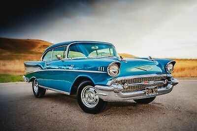 1957 Chevrolet Bel Air/150/210 Fuel Injected, 4 Speed Manual 1957 Chevrolet Bel Air Fuel Injected 4 Speed California Car