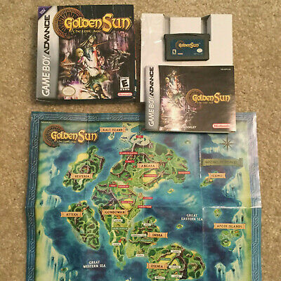 GOLDEN SUN THE LOST AGE (Nintendo Game Boy Advance) COMPLETE IN BOX ...