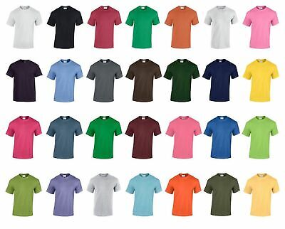 Fruit Of The Loom 5 Pack Mixed Weight Plain T Shirt Tee Shirt S- 5Xl 25 Colours