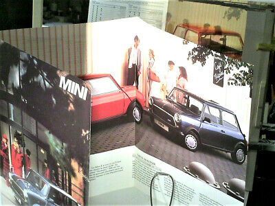 BELLE BROCHURE MINI  AUSTIN (special E & Mayfair) 1989 french édition