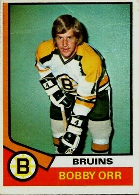 1974-75 O-Pee-Chee Bobby Orr #100 Good Hockey Card