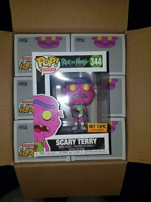 Rick and Morty Scary Terry Funko Pop Hottopic Exclusive Dream Underwear TV 344