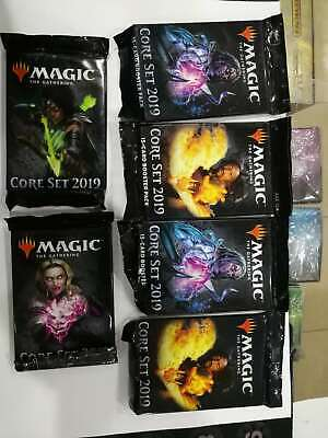 Core Set 2019 M19 MTG Booster Magic The Gathering Factory Sealed Cards Packs NEW
