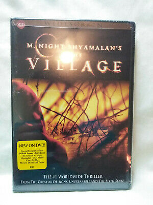 The Village By M. Night Shyamalan (DVD, 2005, Widescreen) New Sealed