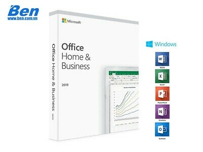 MICROSOFT OFFICE 2019 Home and Business for PC / MAC Key
