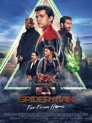 Spider-man : far from home - Affiche cinema 40X60 - 120x160 Movie Poster