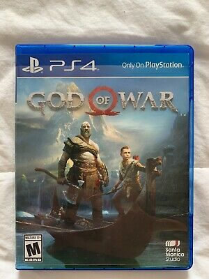 God of War (Sony PlayStation 4, 2018) - Amazing - Adult Owned!