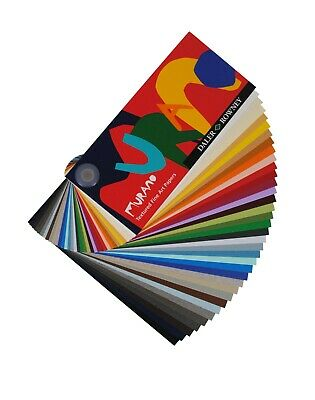 Daler-Rowney A4 Murano Textured Pastel Paper 160gsm - 20 Sheets