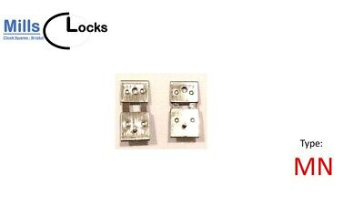 2x Steel Clock Pendulum Suspension Spring. (17.5mm x 2mm x 8mm) (Type MN)