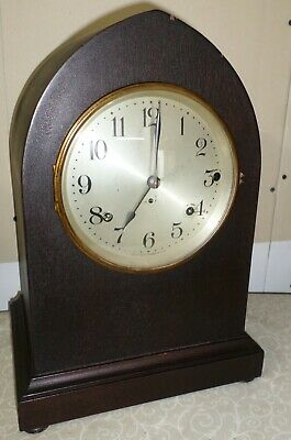 Very Nice Antique Seth Thomas Usa Westminster Sonora Chime Gothic Parlor Clock!