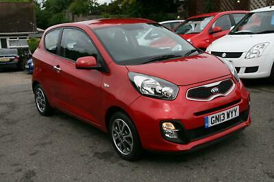 Kia Picanto 1.0 ( 68bhp ) 2011MY City,MET RED,AC,45K,LOW TAX /INSURANCE,ALLOYS