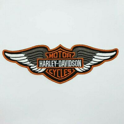"28011 HUGE Motorcycle Wings Retro Chopper Biker Ride Sew Iron On Patch 10/"" LARGE"