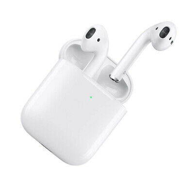 AirPods 2nd Generation with Wireless Charging Case Bluetooth Earphones Earbuds
