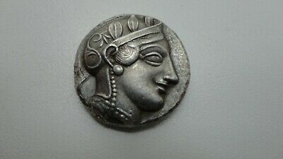 Repro Ancient Greek Coin Rare Tetradrachm Gaza Owl Free Worldwide Shipping