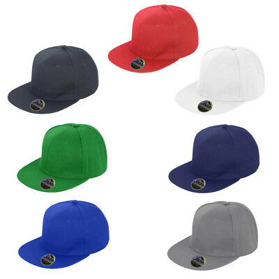 Mens Result Core Flat Peak-Snapback Adjust Collectable Retro Style Cap One Size