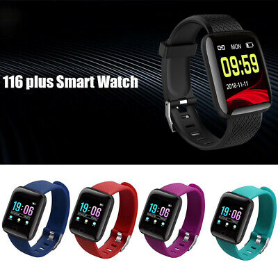 "116plus 1.3 "" Smart Orologio Bluetooth Contapassi Cardiofrequenzimetro Sport"