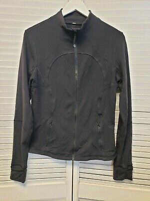 Lululemon Womens Black Define stretch full-zip fitness workout jacket Sz (S)