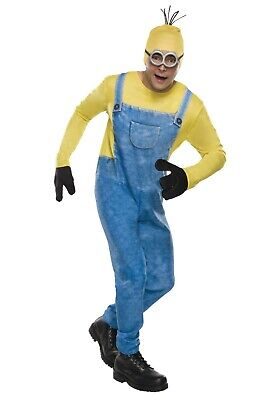 7b940aacf5f NEW ADULT MENS Despicable Me Minion Kevin Costume Halloween Dress Up ...