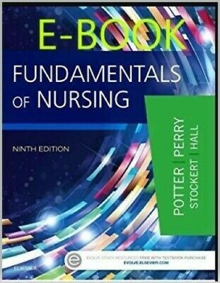 Fundamentals of Nursing Perry 9th Potter  ⭐️SEE NOTE⭐️