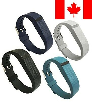4PCS Replacement Wristband for Fitbit Flex Bands with Watch Buckle Small Larg...